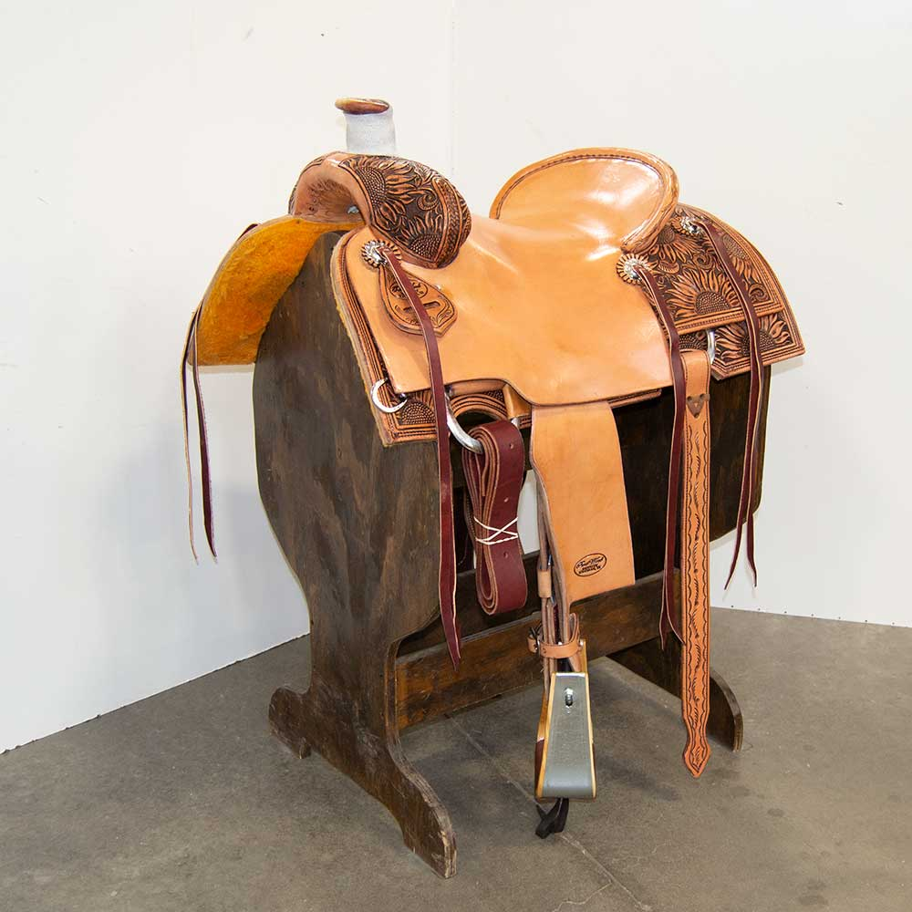 "15.5"" TRENT WARD RANCH SADDLE"