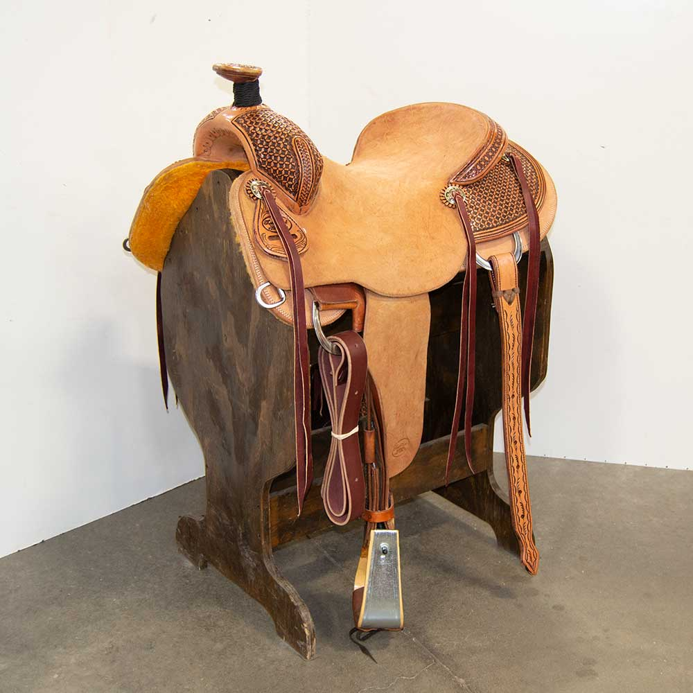"16"" TRENT WARD RANCH SADDLE"