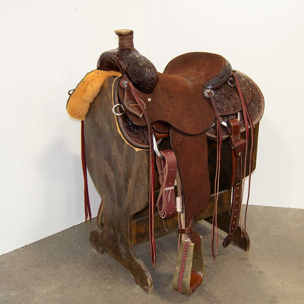 "15"" TESKEY'S RANCH SADDLE"