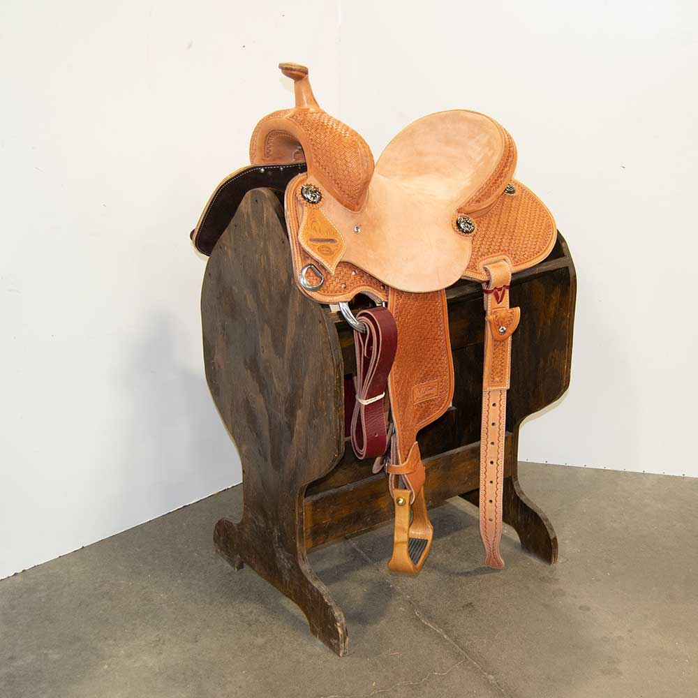 "13"" JEFF SMITH BARREL SADDLE"