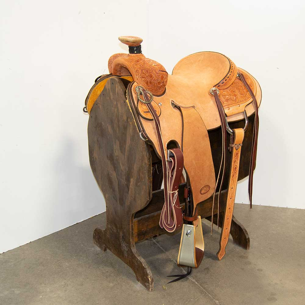 "14.5"" TRENT WARD SEAT RIG RANCH SADDLE"