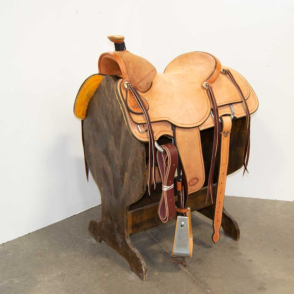 "15"" TRENT WARD RANCH SADDLE"