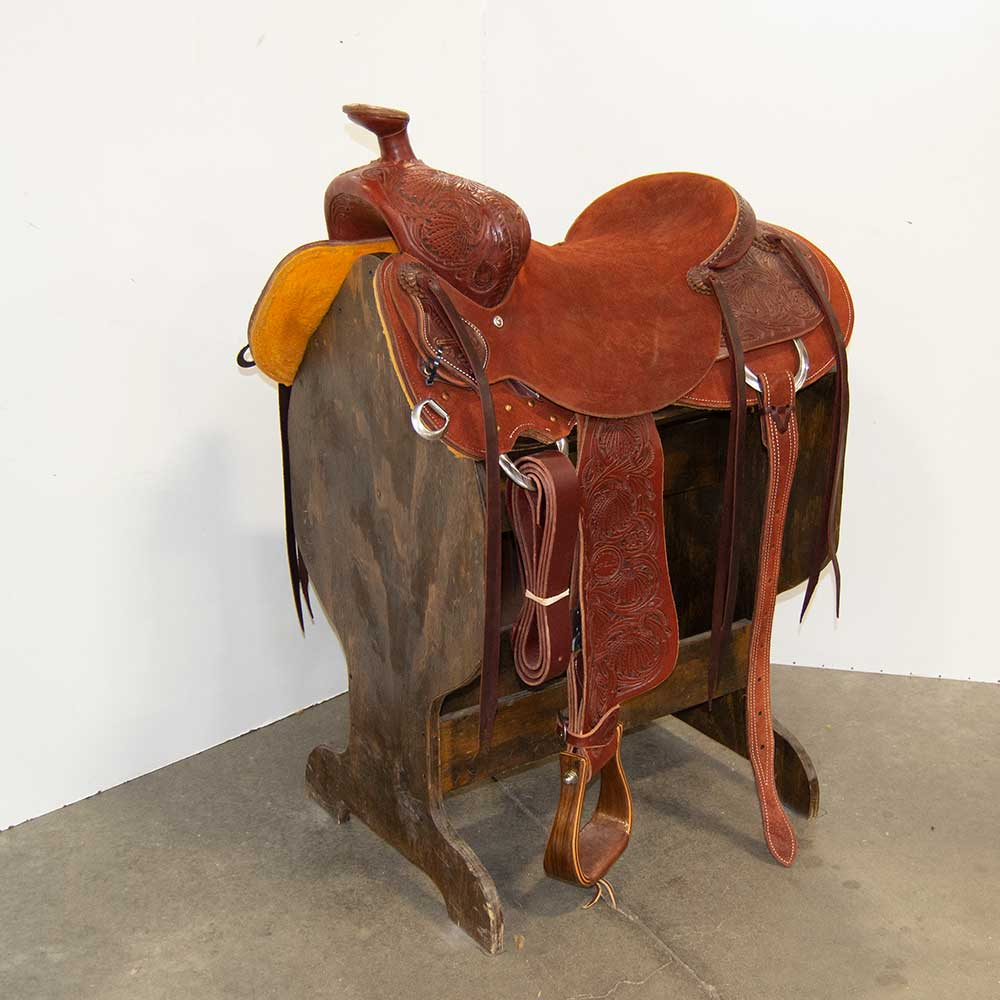 "16"" JEFF SMITH COWBOY SADDLE"