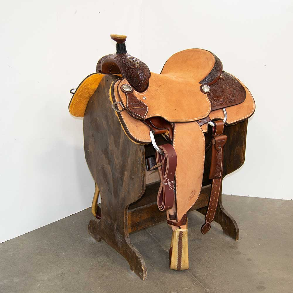 "15"" TESKEY'S ROPING SADDLE"