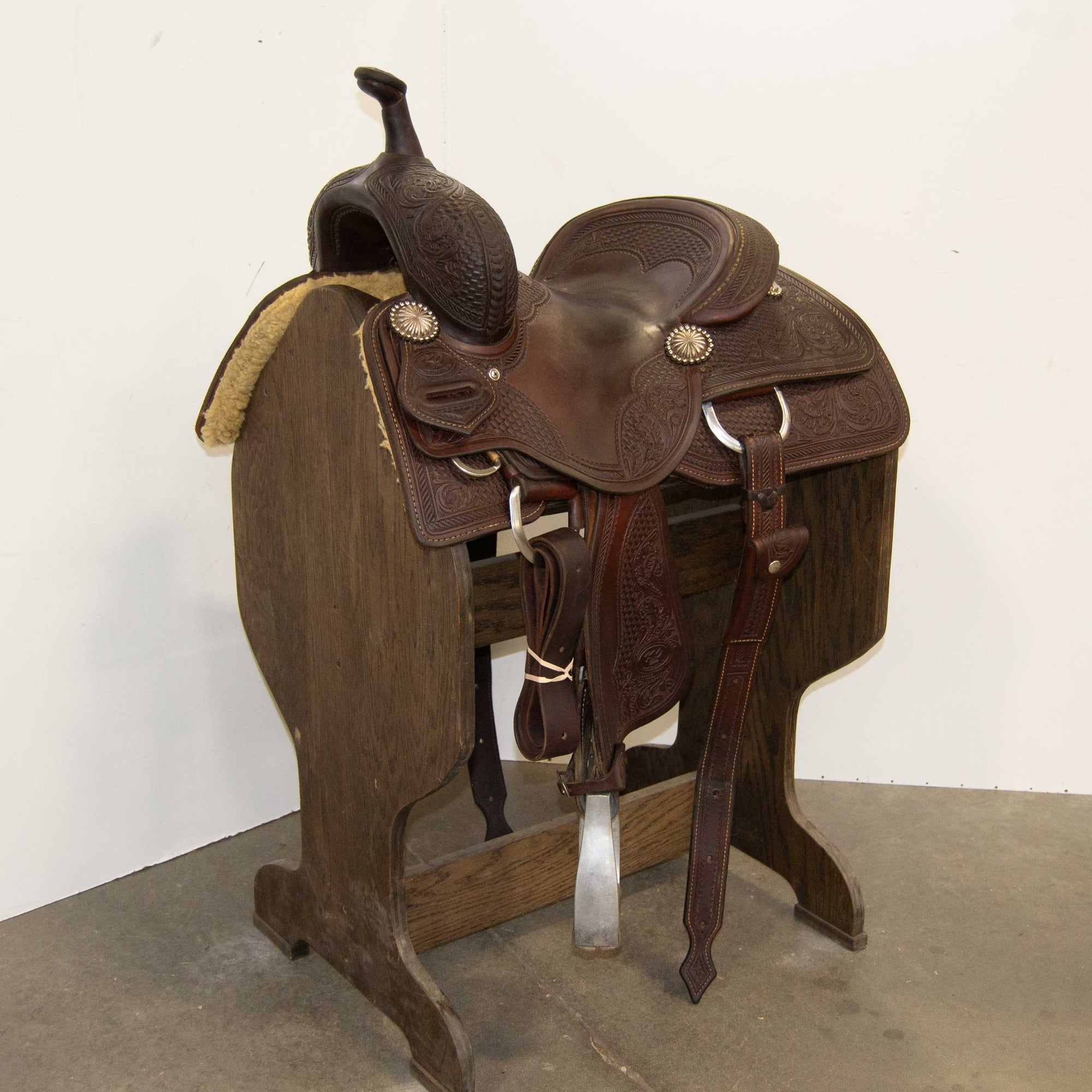 "13"" USED KO ELITE BARREL SADDLE"