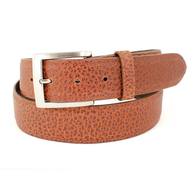 "1 1/2"" Bison Leather Belt MEN - Accessories - Belts & Suspenders CHACON LEATHER Teskeys"