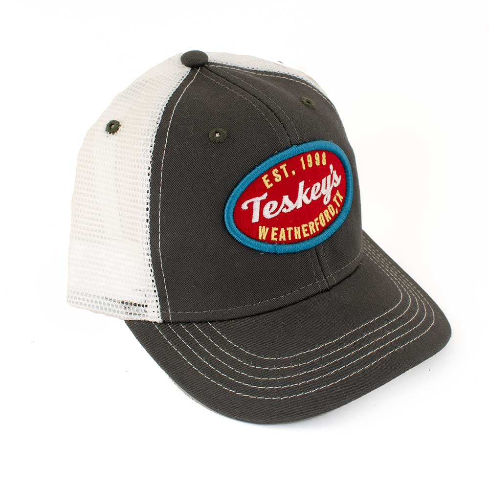 Teskey's Script Logo Youth 3D Cap KIDS - Accessories - Hats & Caps OURAY SPORTSWEAR Teskeys