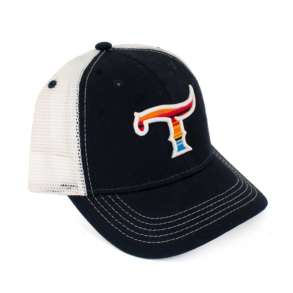 Teskey's T Logo Youth Serape Cap TESKEY'S GEAR - Youth Baseball Caps OURAY SPORTSWEAR Teskeys