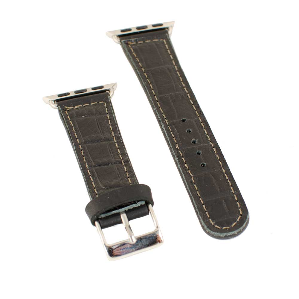 Crocodile Apple Watchband WOMEN - Accessories - Jewelry - Watches & Watch Bands SANDRA LING DESIGNS Teskeys
