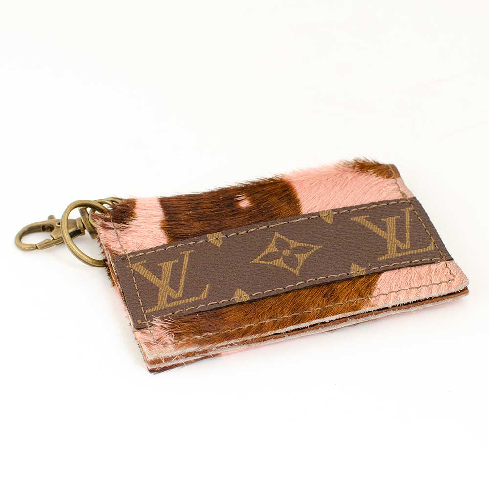 LV Cowhide Credit Card Holder
