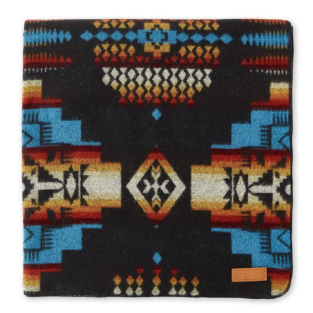 Ecuadane Andes Cliffside Southwestern Blanket HOME & GIFTS - Home Decor - Blankets + Throws Ecuadane Teskeys