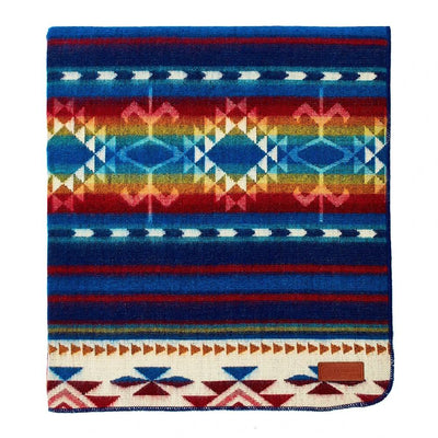 Ecuadane Cotacachi Water Southwestern Blanket HOME & GIFTS - Home Decor - Blankets + Throws Ecuadane Teskeys