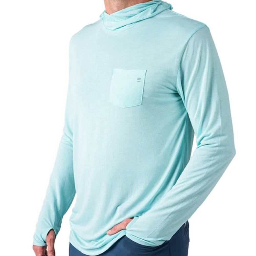 Mens Free Fly Bamboo Lightweight Hoody MEN - Clothing - Pullovers & Hoodies FREE FLY APPAREL Teskeys