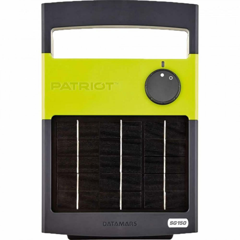 Patriot Solarguard 150 Solar Fence Energizer Farm & Ranch - Arena & Fencing Patriot Teskeys