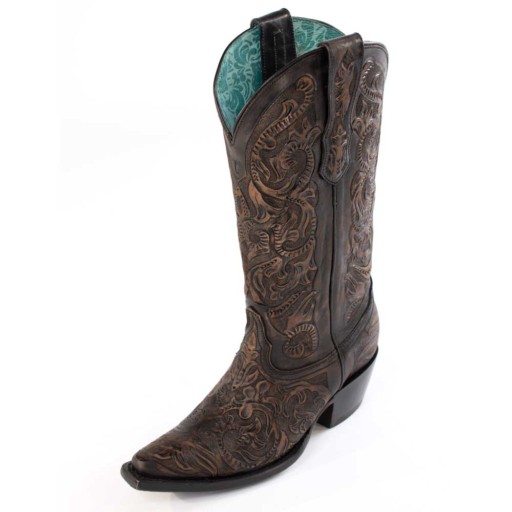 Corral Hand Tooled Boot WOMEN - Footwear - Boots - Fashion Boots CORRAL BOOTS Teskeys