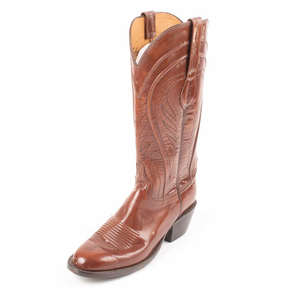 Lucchese Tan Goat Men's Boots - SIZE 9.5B - FINAL SALE WOMEN - Footwear - Boots - Western Boots LUCCHESE BOOT CO. Teskeys