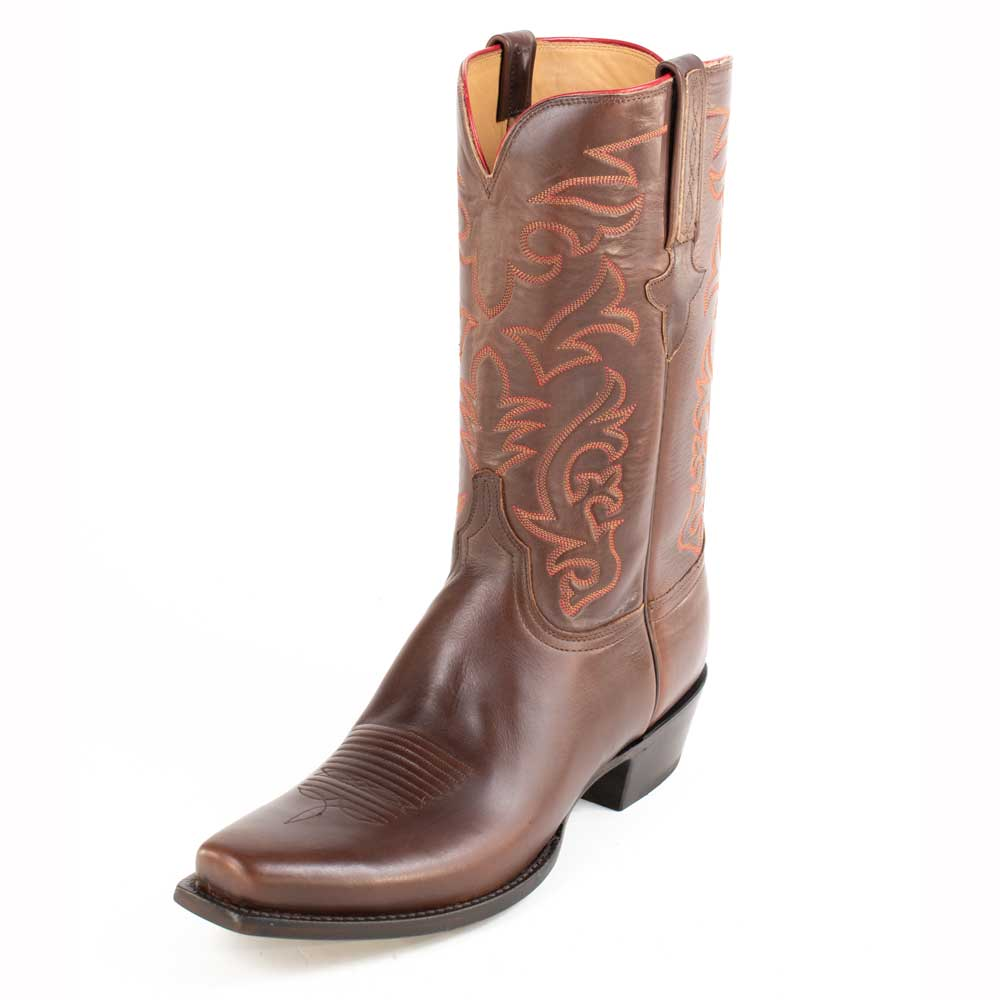 Lucchese Classic Oil Calf Boot MEN - Footwear - Exotic Western Boots LUCCHESE BOOT CO. Teskeys