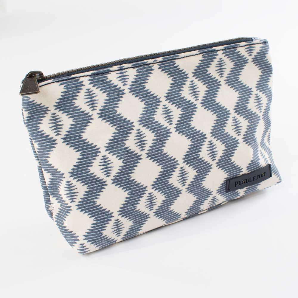 Pendleton Zigzag River Canvas Zip Pouch WOMEN - Accessories - Handbags - Clutches & Pouches PENDLETON Teskeys