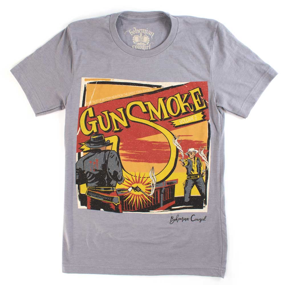 Gunsmoke Tee WOMEN - Clothing - Tops - Short Sleeved BOHEMIAN COWGIRL Teskeys