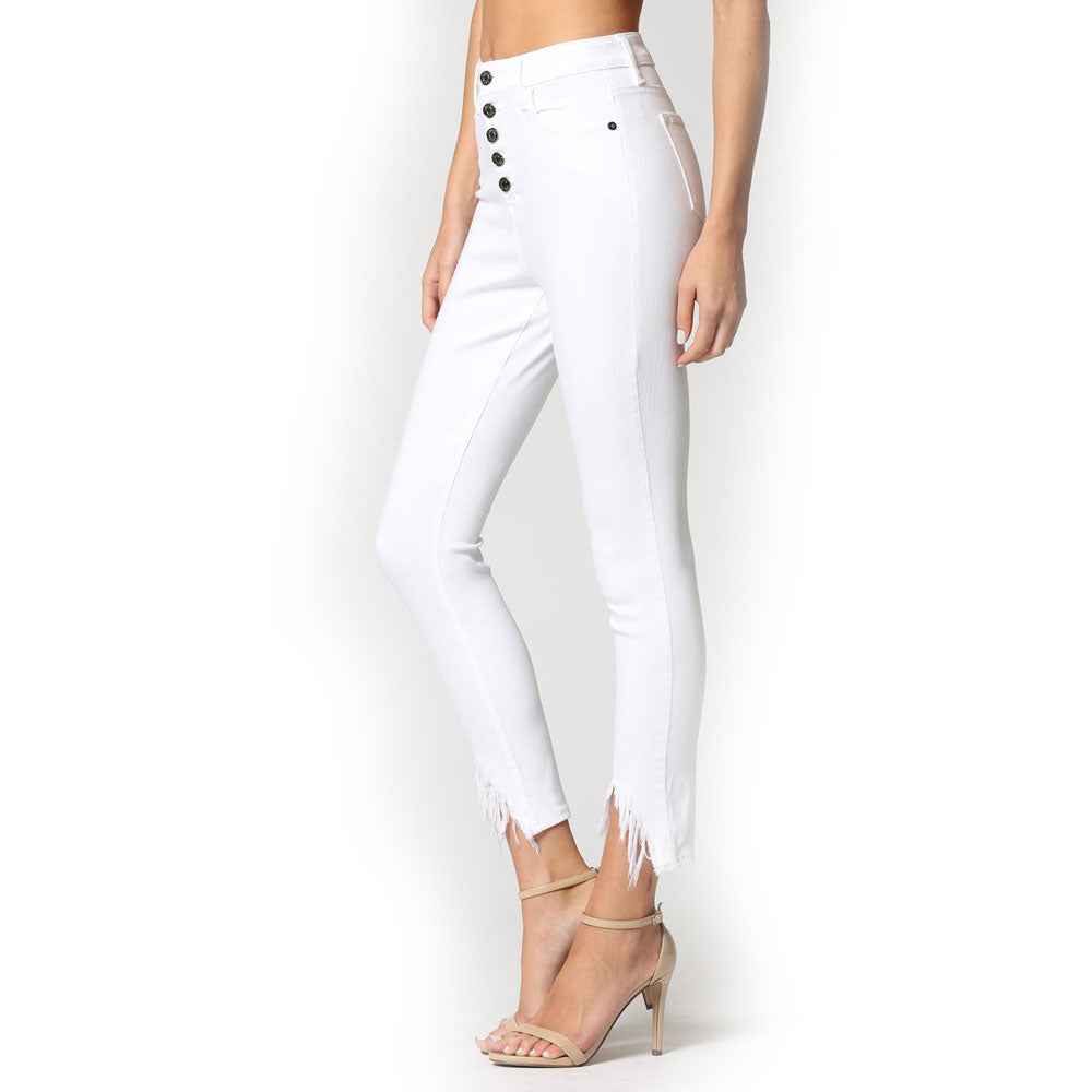 "Hidden Jeans High Rise  27"" Skinny WOMEN - Clothing - Jeans HIDDEN JEANS Teskeys"