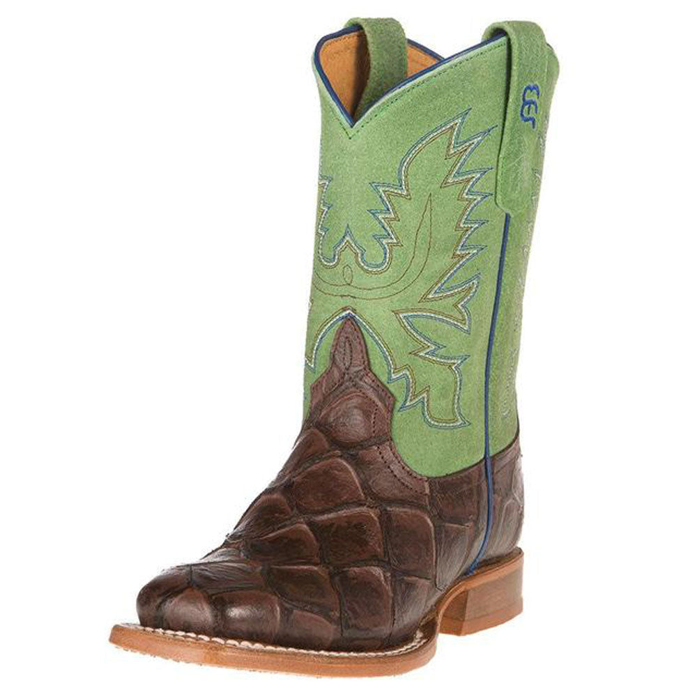 Chocolate Filet of Fish Boot KIDS - Boys - Footwear - Boots ANDERSON BEAN BOOT CO. Teskeys