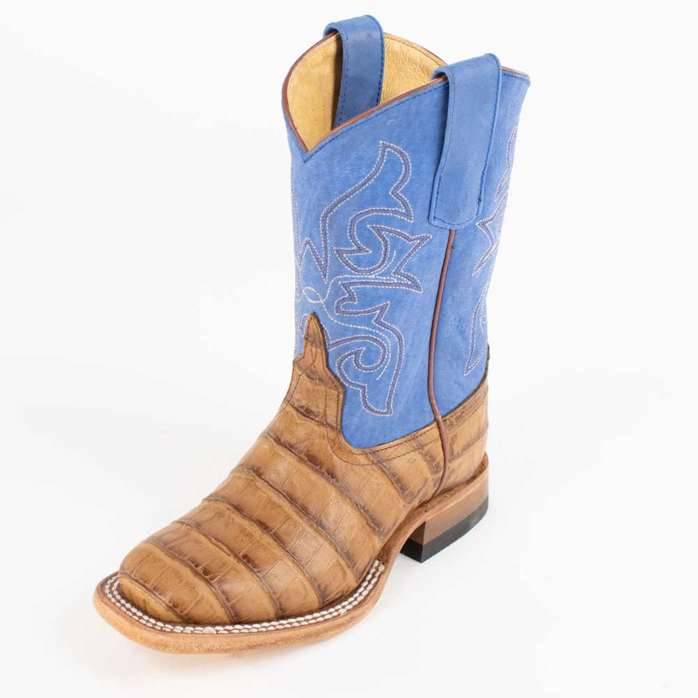 Horse Power Kid's Toasted Caiman Boot KIDS - Boys - Footwear - Boots ANDERSON BEAN BOOT CO. Teskeys