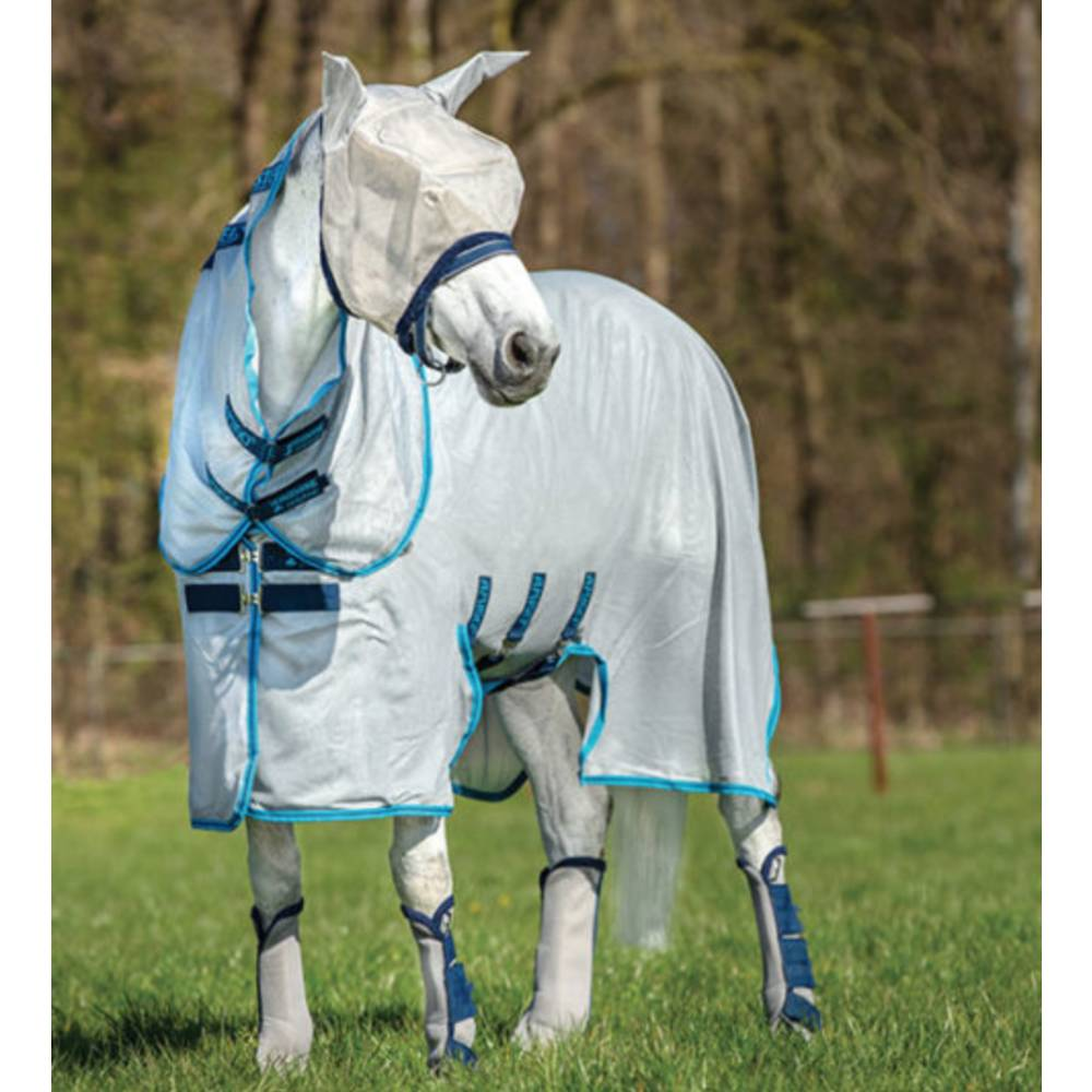 Horseware Amigo Bug Buster Sheet with No-Fly Zone (No fill) FARM & RANCH - Animal Care - Equine - Fly & Insect Control - Fly Masks & Sheets Horseware Teskeys