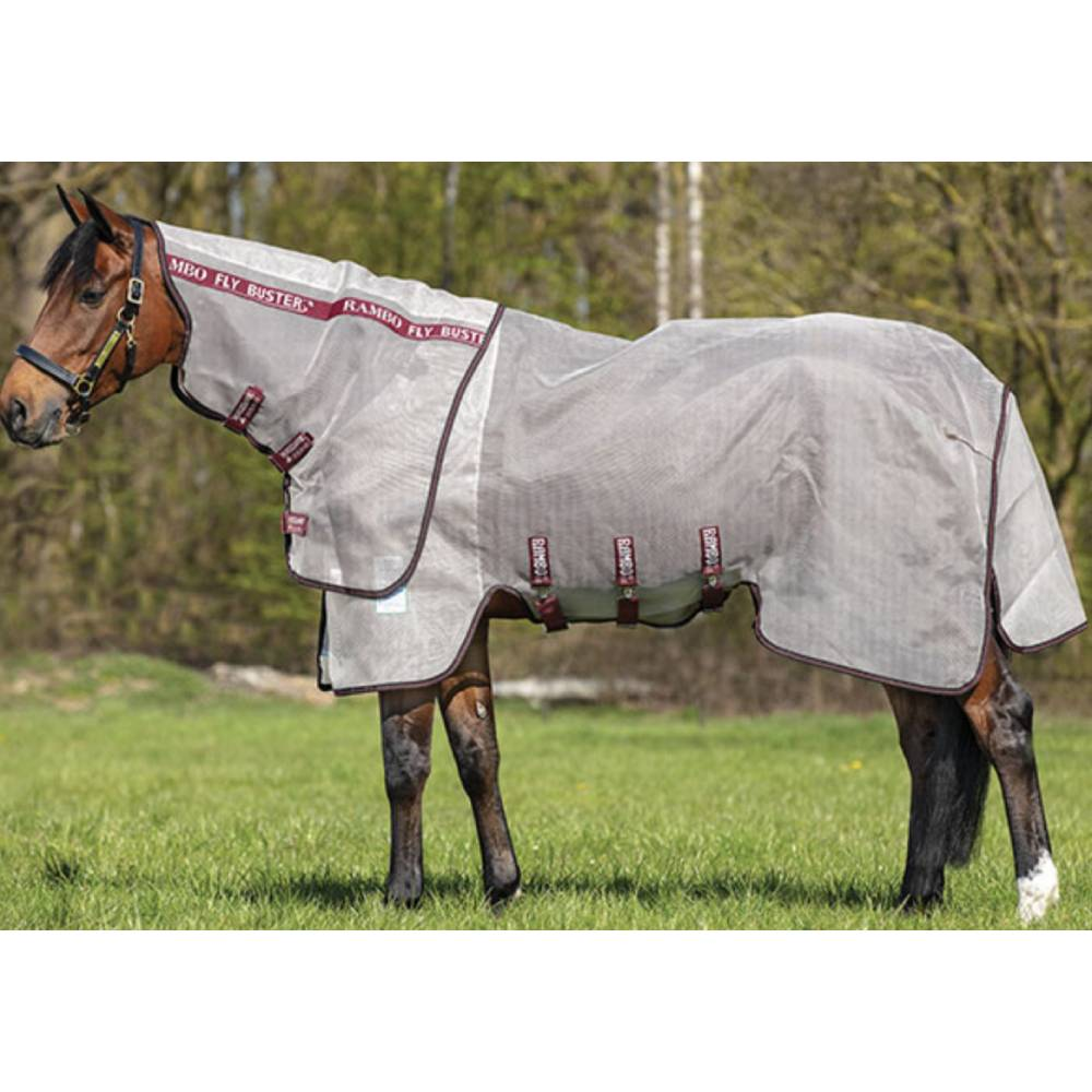 Horseware Rambo Flybuster Vamoose with No-Fly Zone FARM & RANCH - Animal Care - Equine - Fly & Insect Control - Fly Masks & Sheets Horseware Teskeys
