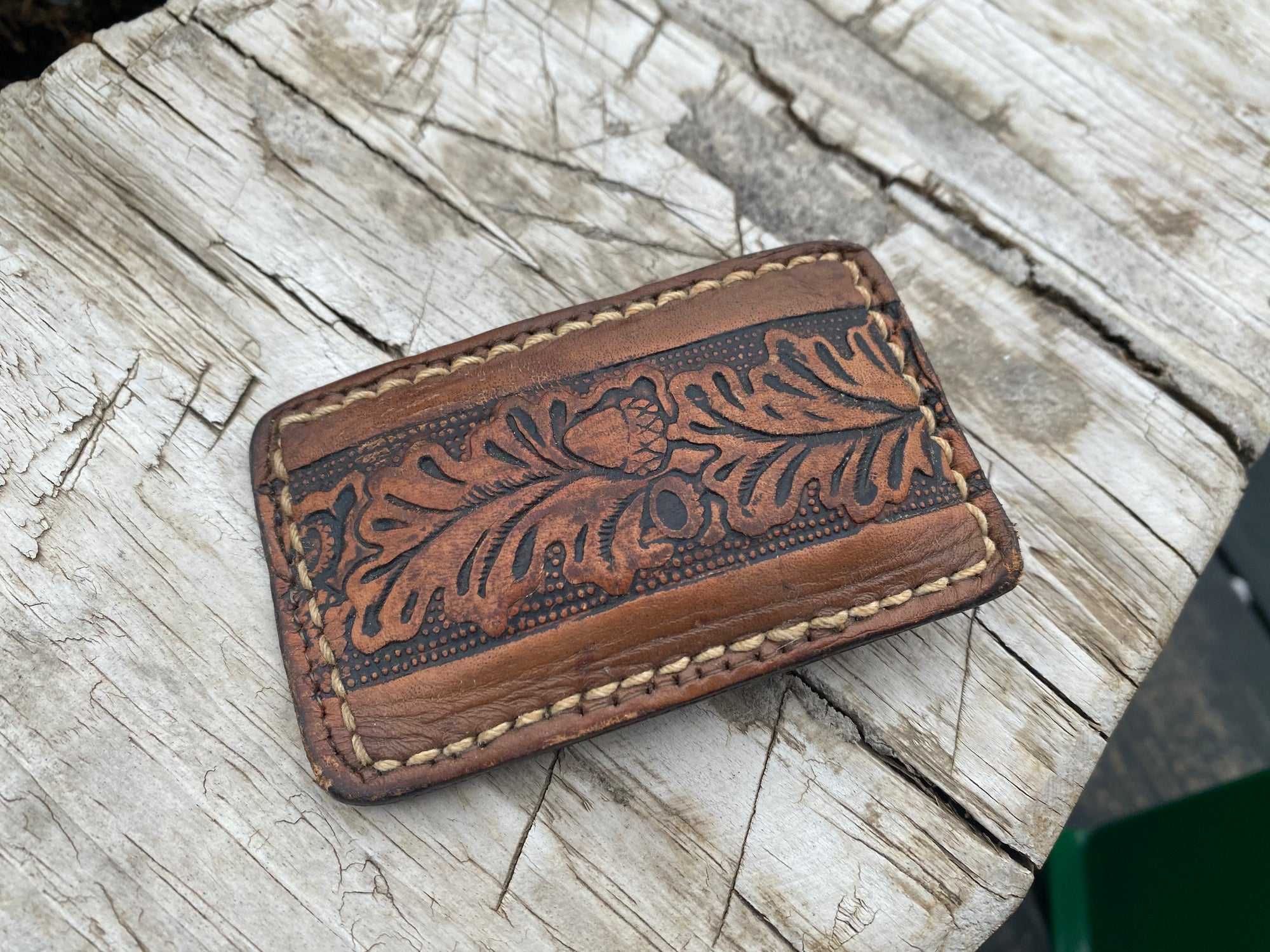 Vintage Acorn Tooled Buckle ACCESSORIES - Additional Accessories - Buckles Relic Vintage Collection Teskeys