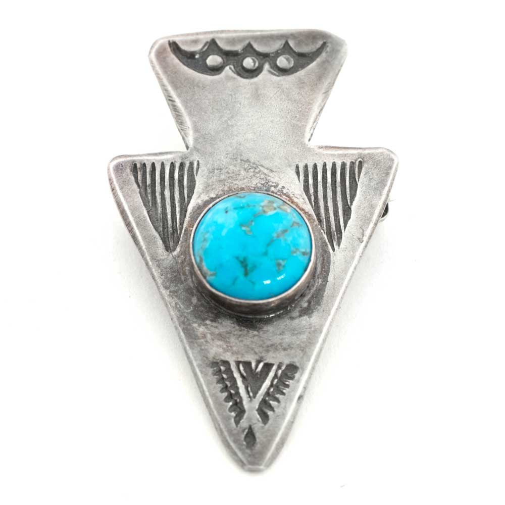 Sterling Silver Arrowhead Pin WOMEN - Accessories - Jewelry - Pendants PEYOTE BIRD DESIGNS Teskeys