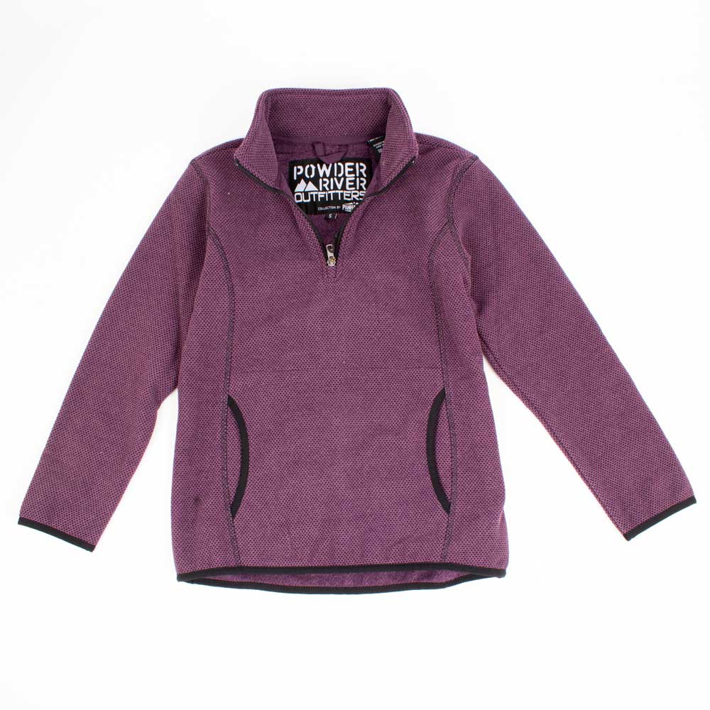 Powder River Youth 1/4 Zip Pullover KIDS - Girls - Clothing - Outerwear - Jackets Panhandle Teskeys