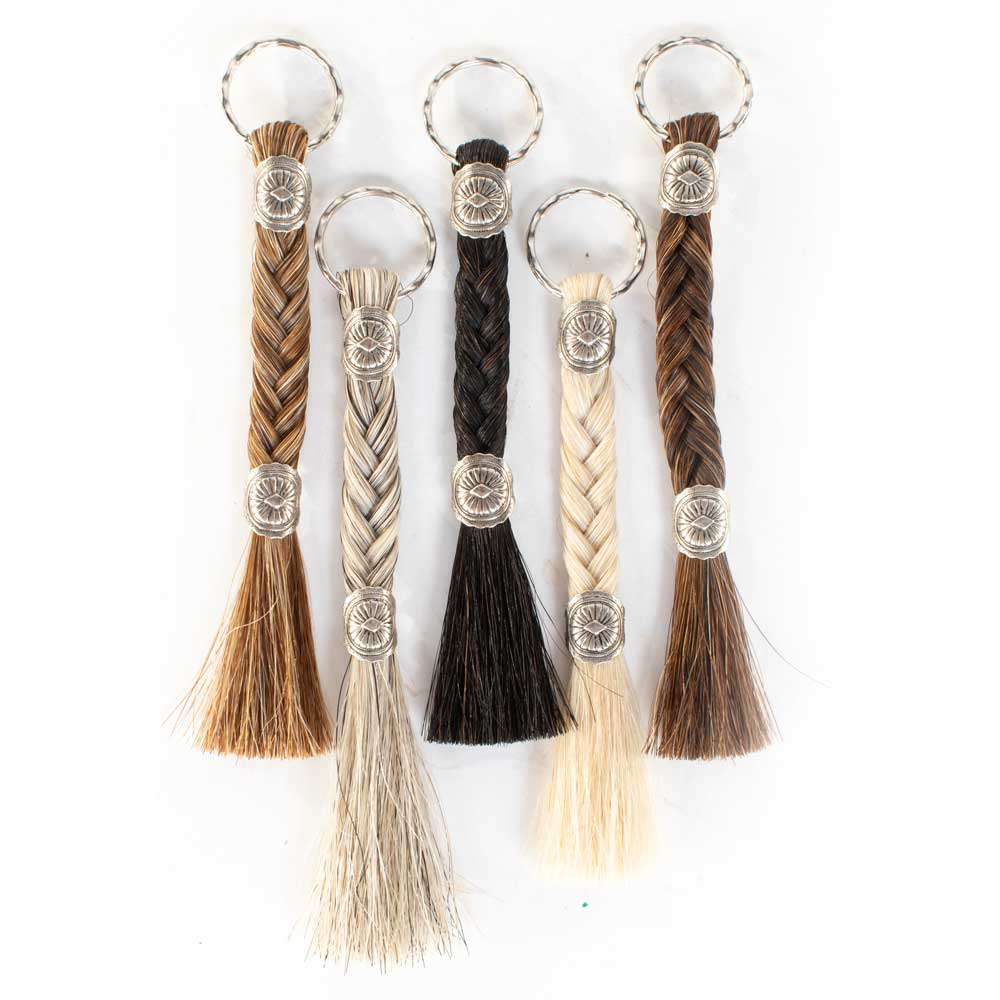 Braided Horsehair Keychain WOMEN - Accessories - Small Accessories Cowboy Collectibles Teskeys