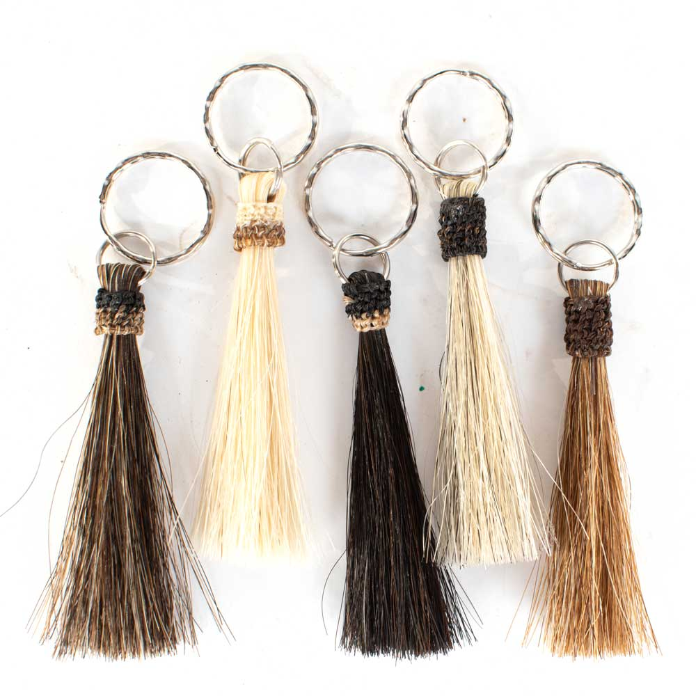 Horsehair Tassel Keychain WOMEN - Accessories - Small Accessories Cowboy Collectibles Teskeys