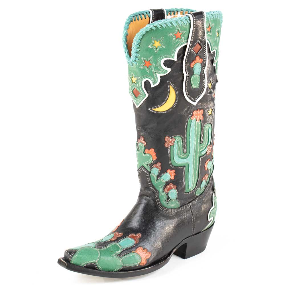 Old Gringo Desierto de Noche Black Boot WOMEN - Footwear - Boots - Fashion Boots OLD GRINGO Teskeys
