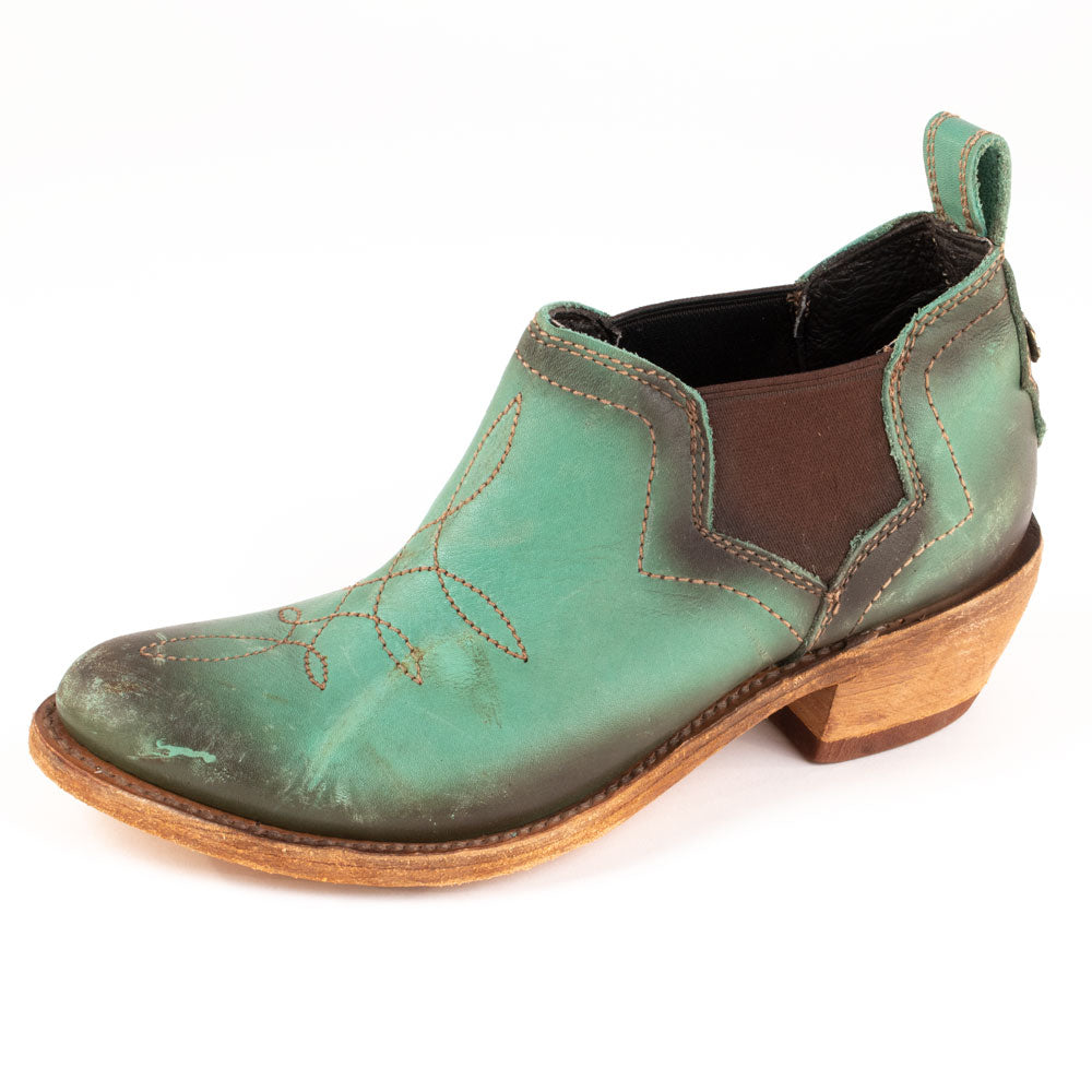 Liberty Black Chalk Turquoise Bootie WOMEN - Footwear - Boots - Booties LIBERTY BLACK BOOT CO. Teskeys