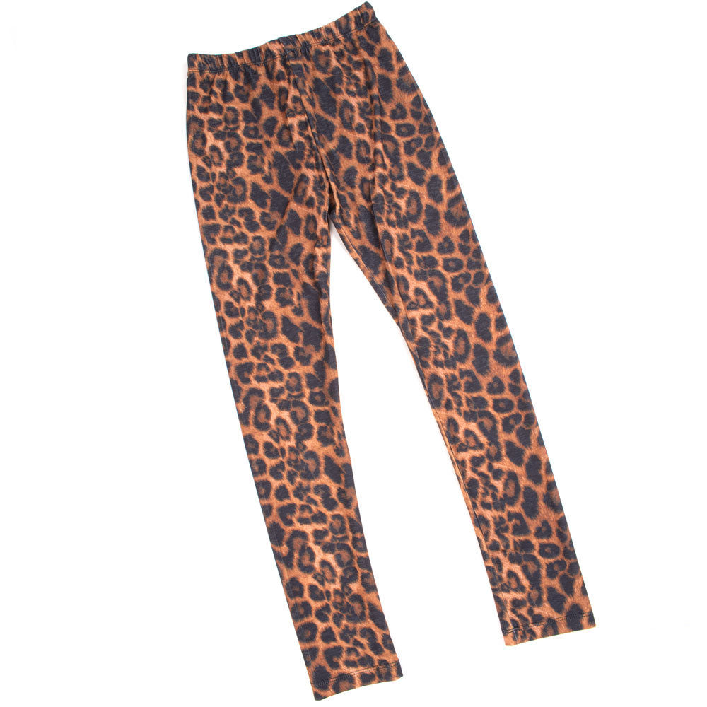 Girl's Amber Leopard Legging KIDS - Girls - Clothing - Pants Lucky & Blessed Teskeys