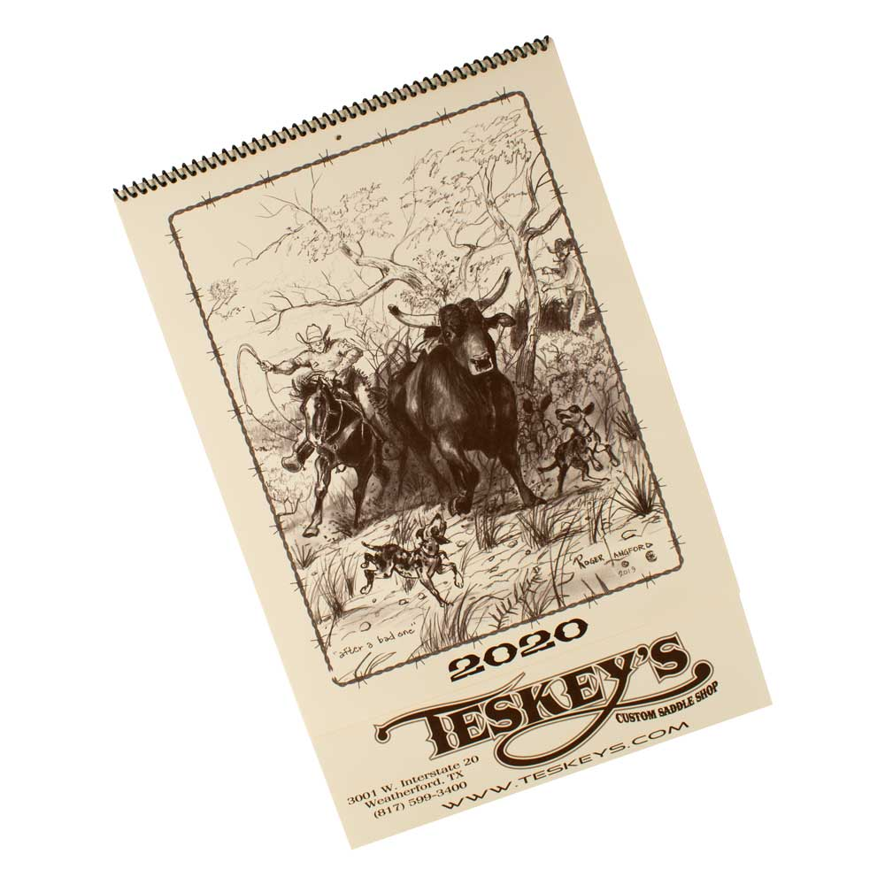 2020 Roger Langford Calendars Farm & Ranch - Toys and DVDs - Media Teskeys Teskeys