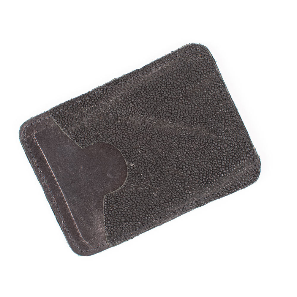 Leather Business Card Holder MEN - Accessories - Wallets & Money Clips RIOS OF MERCEDES BOOT CO. Teskeys