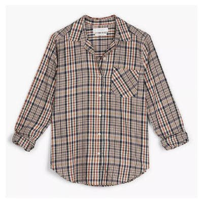 Lucky Brand Long Sleeve Classic Shirt WOMEN - Clothing - Tops - Long Sleeved LUCKY BRAND JEANS Teskeys