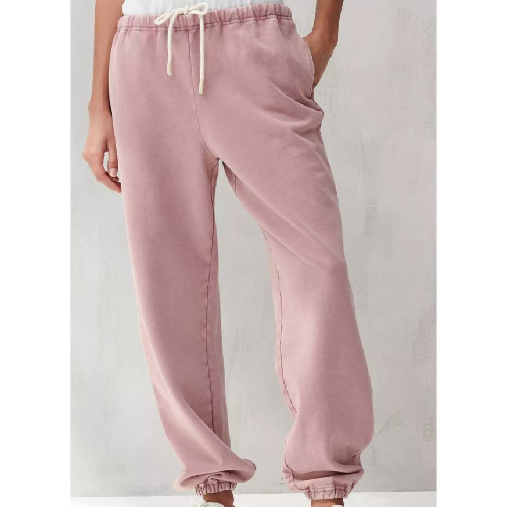 Lucky Brand Suede Terry Joggers - Rose WOMEN - Clothing - Pants & Leggings LUCKY BRAND JEANS Teskeys
