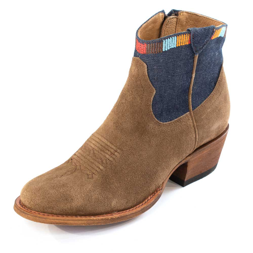 Macie Bean Blue Jean Baby Bootie WOMEN - Footwear - Boots - Booties ANDERSON BEAN BOOT CO. Teskeys