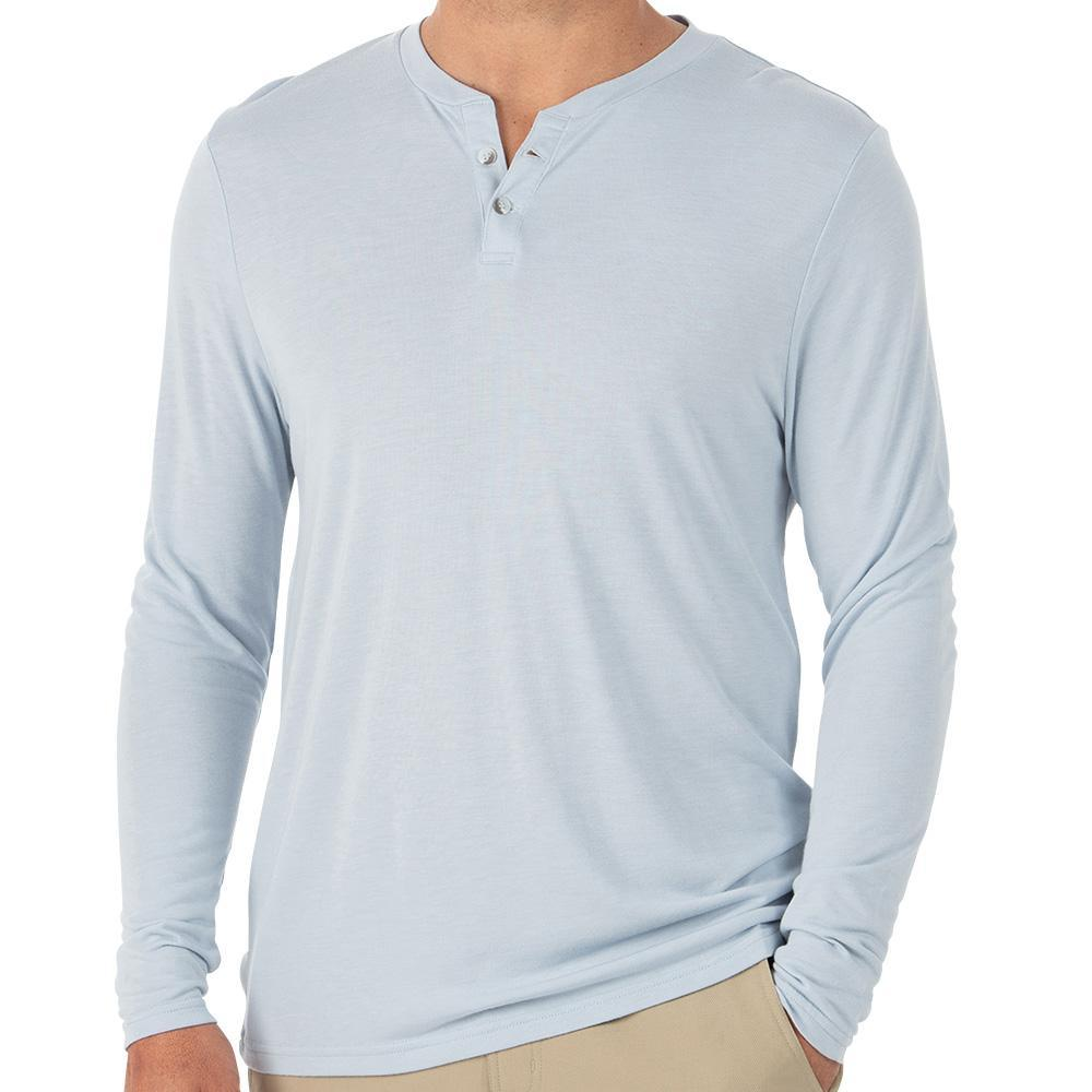 Free Fly Bamboo Cruiser Henley MEN - Clothing - T-Shirts & Tanks FREE FLY APPAREL Teskeys