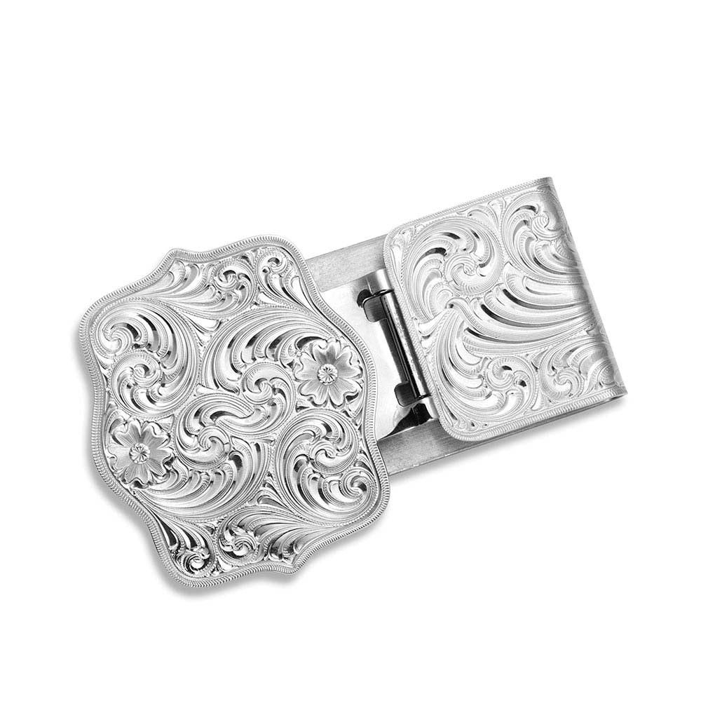 Montana Silversmiths Legacy Mini Buckle Money Clip MEN - Accessories - Wallets & Money Clips Montana Silversmiths Teskeys