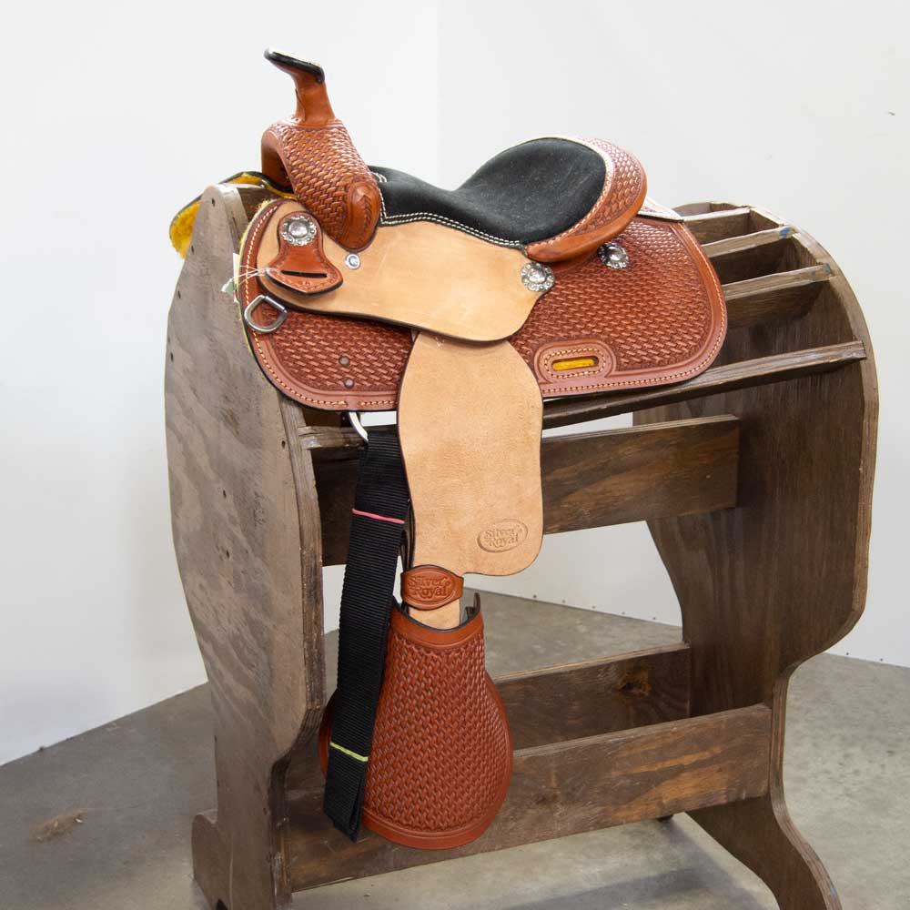 """The Hickok"" 10"" Pony Saddle Saddles Silver Royal Teskeys"