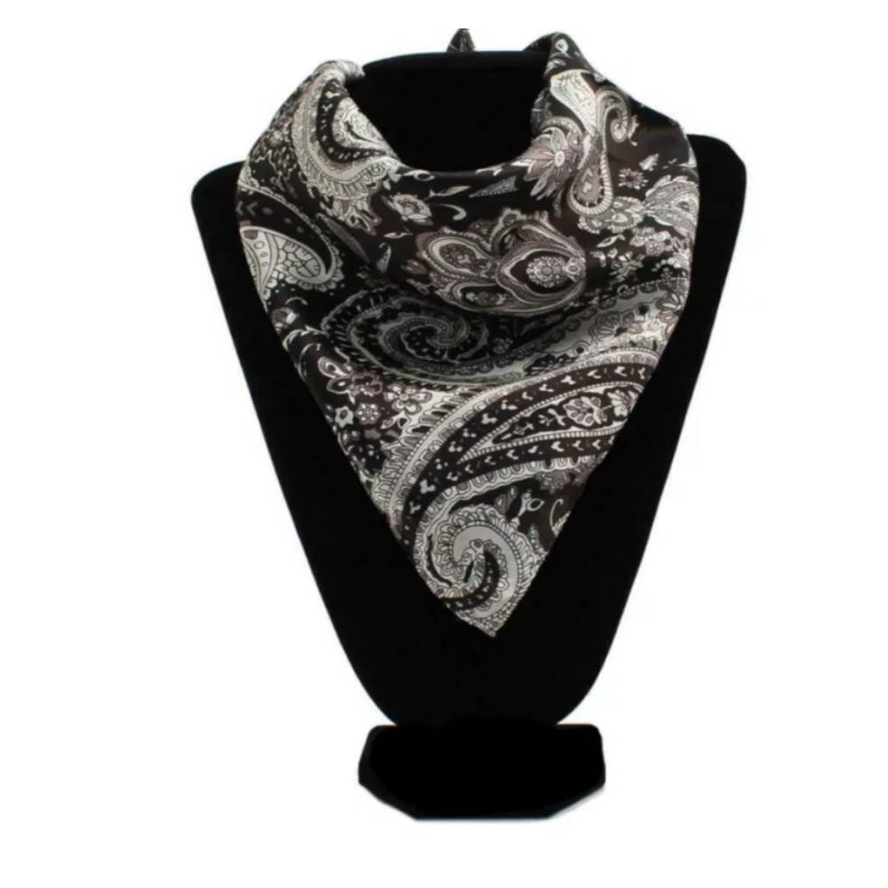 Silk Paisley Wild Rag ACCESSORIES - Additional Accessories - Wild Rags & Scarves M&F Western Products Teskeys