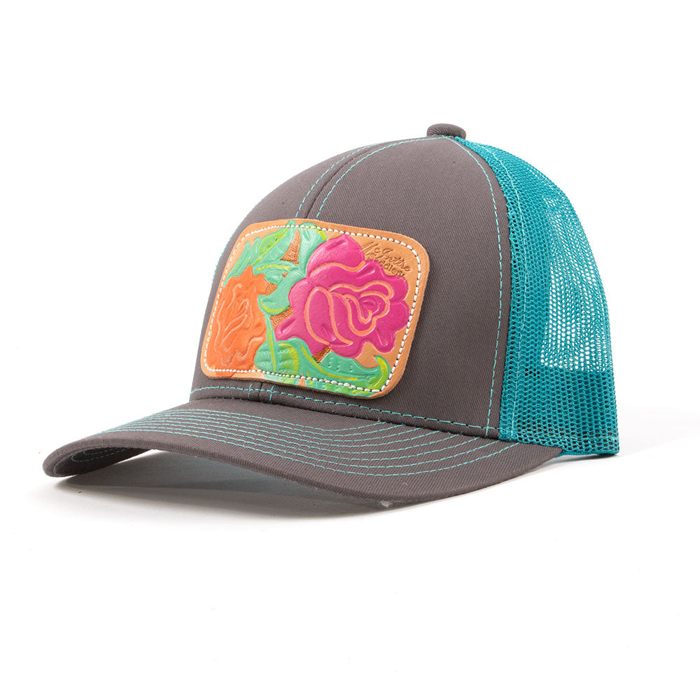 McIntire Saddlery Bright Roses Cap WOMEN - Accessories - Caps, Hats & Fedoras MCINTIRE SADDLERY Teskeys
