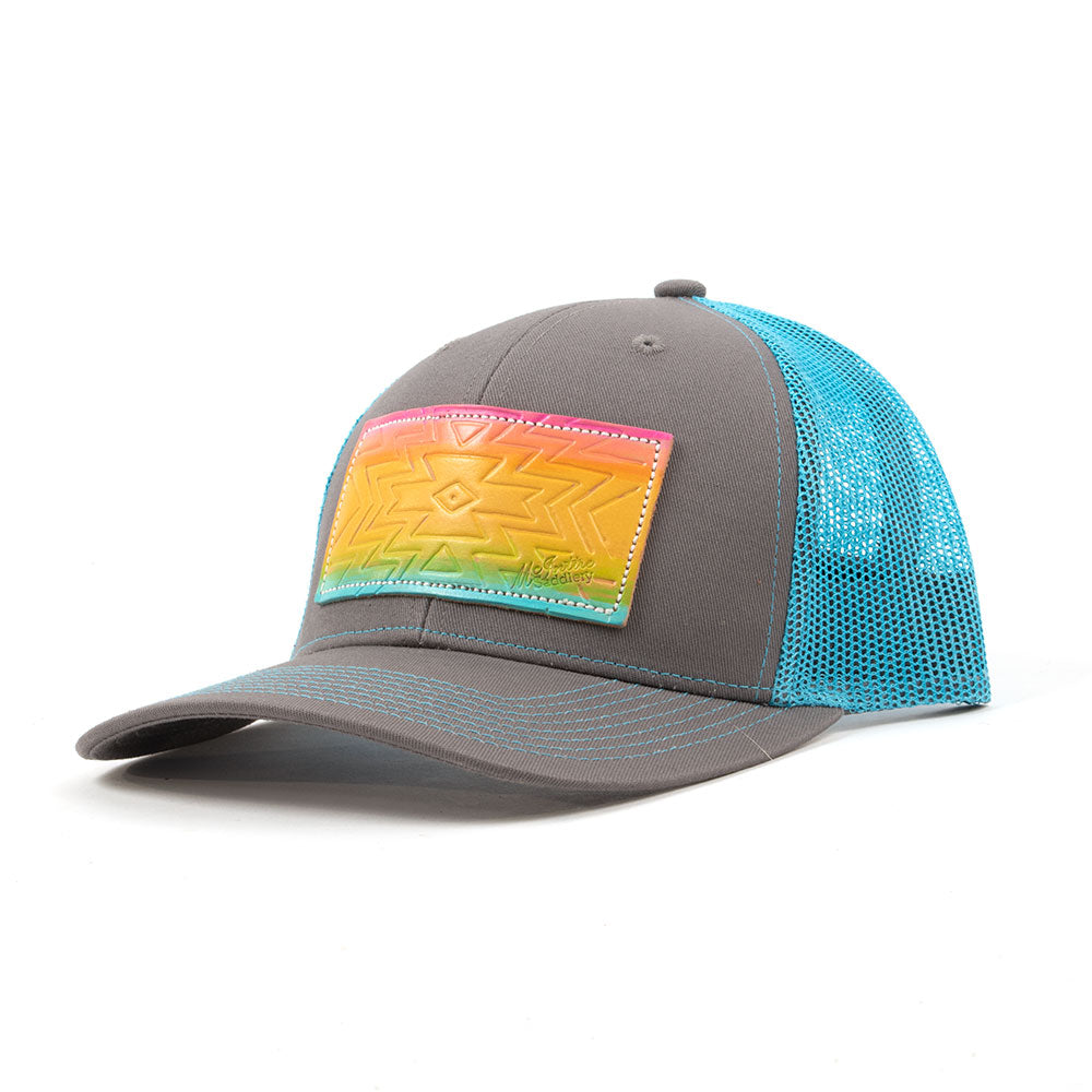 McIntire Saddlery Rainbow Aztec Cap WOMEN - Accessories - Caps, Hats & Fedoras MCINTIRE SADDLERY Teskeys