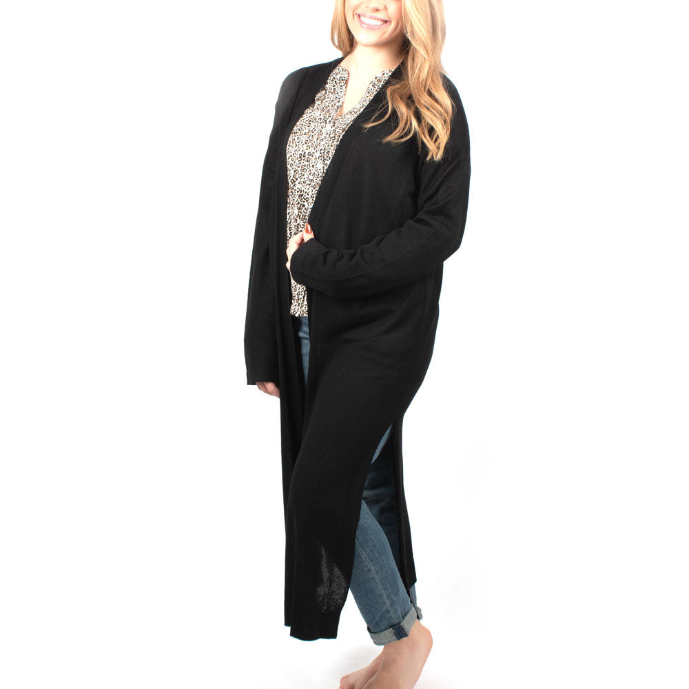 Velma Cardigan - Black WOMEN - Clothing - Sweaters & Cardigans MOD REF Teskeys