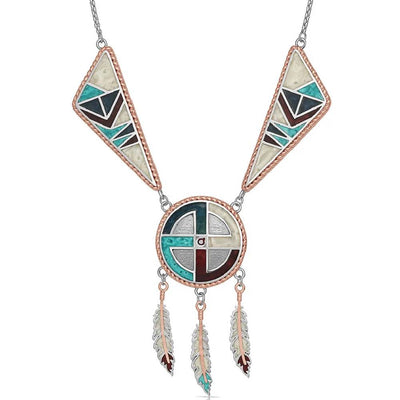 Montana Silversmiths American Legends Dream Weaver Necklace WOMEN - Accessories - Jewelry - Necklaces Montana Silversmiths Teskeys