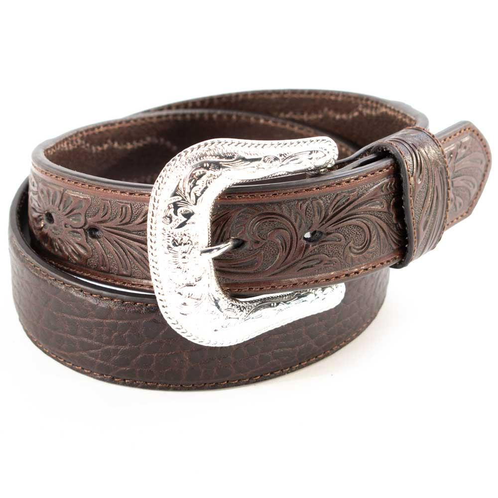 Nocona Brown Bullhide Belt MEN - Accessories - Belts & Suspenders M&F Western Products Teskeys